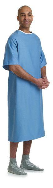 Cotton 100% Unisex Patient Hospital Gown - BH Medwear