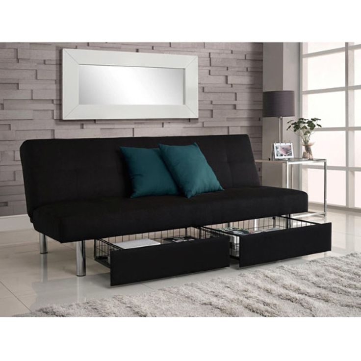 Living Room Sofa With Storage: Best 25+ Futon Living Rooms Ideas On Pinterest