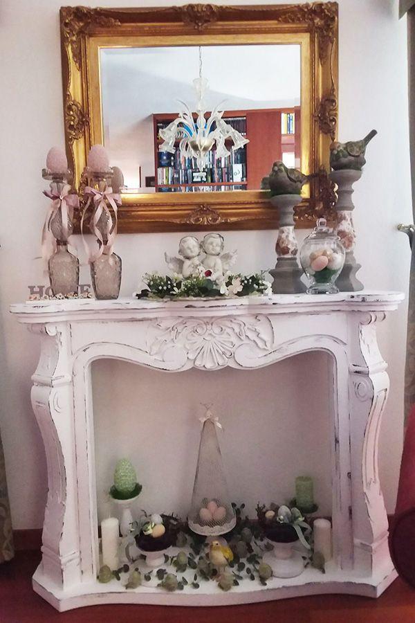22 best finti camini decorativi images on pinterest fake - Finti camini decorativi ...