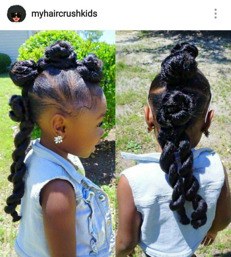 I love this little divas hair #myhaircrushkids