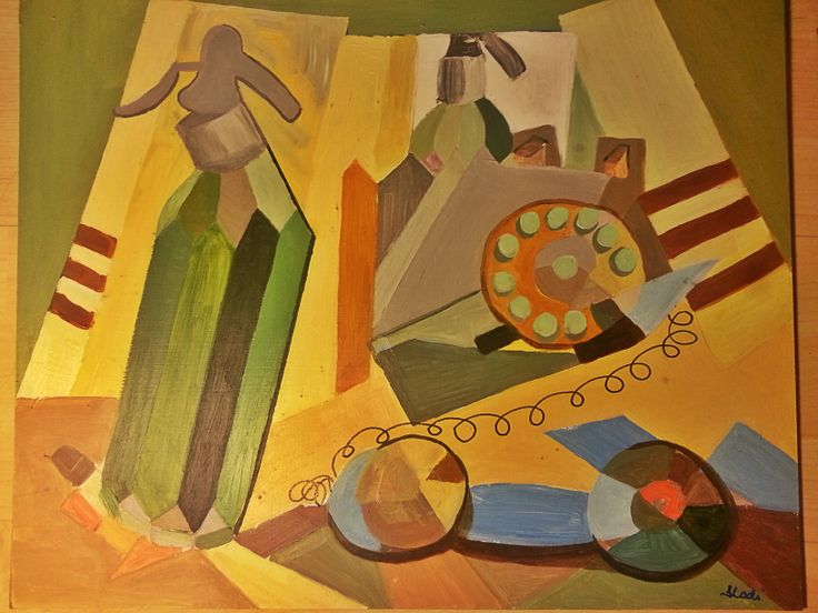 ring my bell_cubism 40X50 2012