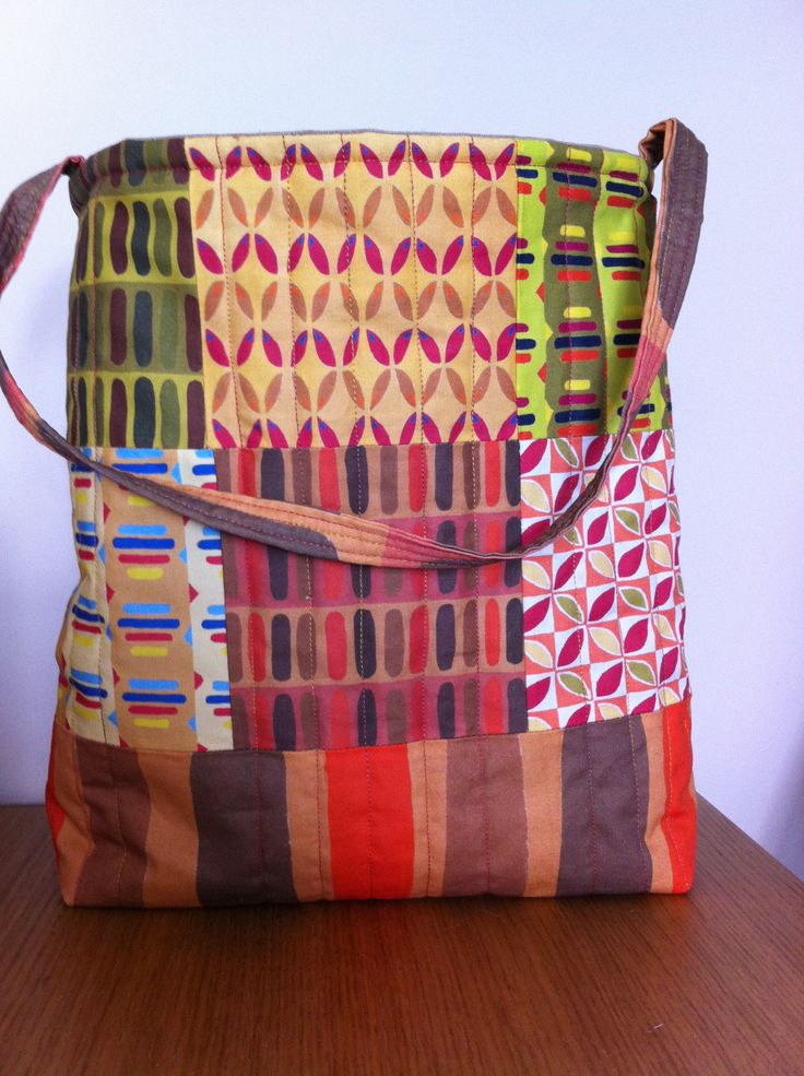 My newly designed quilt bag