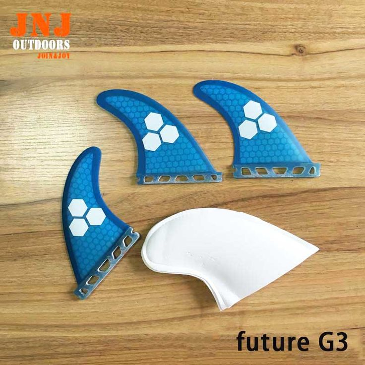 Free shipping blue fiberglass green future G3 S fins future surfboard fin Tri-set surf table future fins #Affiliate