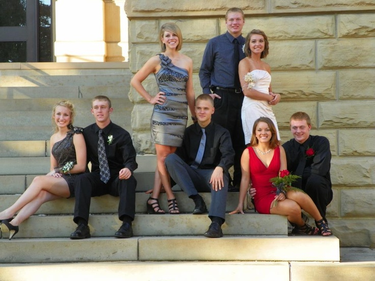 Homecoming Picture. Group Picture.
