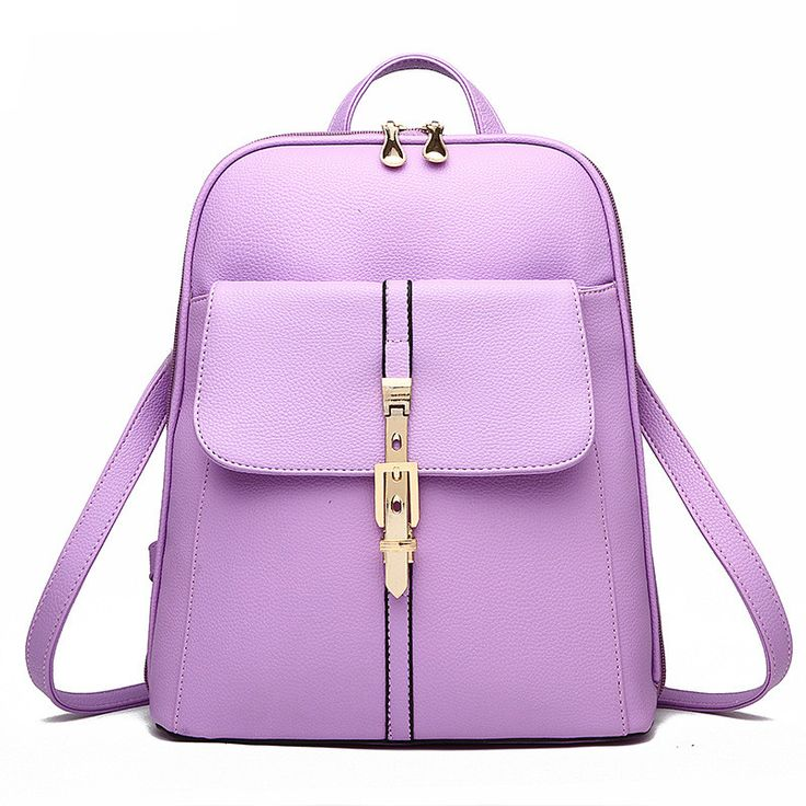 MONNET CAUTHY New Arrival Female Bags Candy Color Pink Wine Red #Lavender Beige Orange #Backpacks Concise Leisure #Fashion Girl #Bag