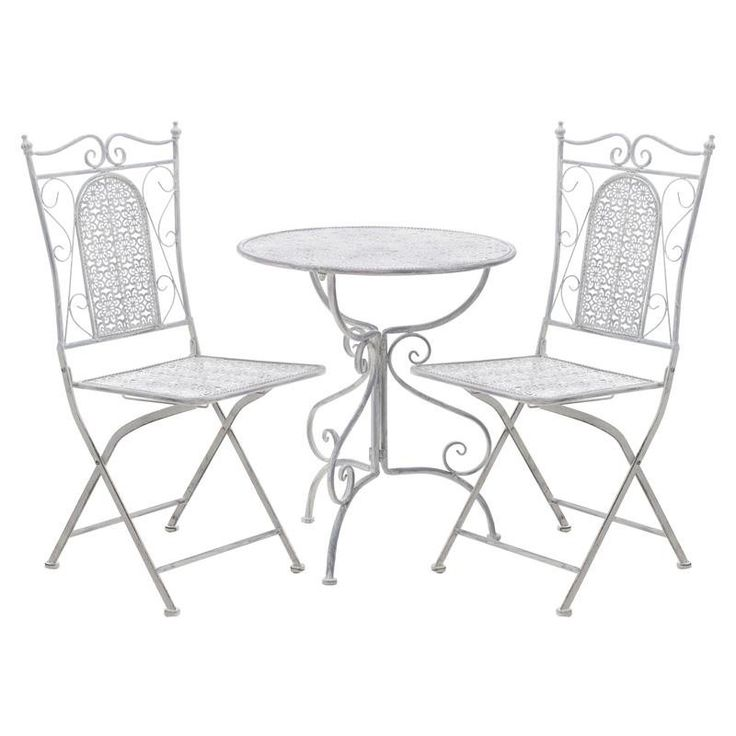 Table And 2 Chairs Set - Outdoor - FURNITURE - inart