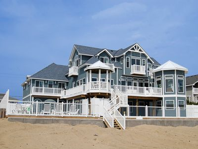 Sweetwater - Siebert Realty | Sandbridge Beach  - The house where the Luau Party will take place.