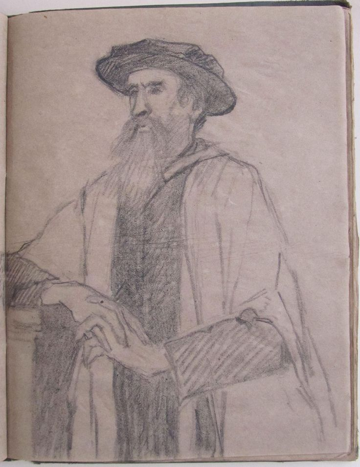 Study for a portrait of Sir Leslie Stephen