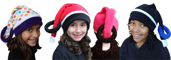 Check out the Ringette stick hats!