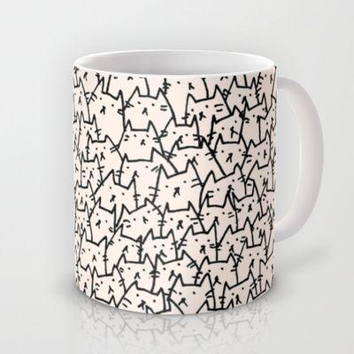 A Lot of Cats Mug by Kitten Rain - $15.00