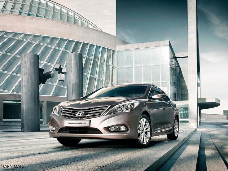 Hyundai Grandeur, take a look at the photo shoot http://www.harniman.com/blog/hyundai-grandeur/ #Hyundai #car #photo #shoot