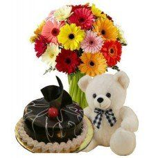 Adorable Combo, Combos, Flowers and Cake