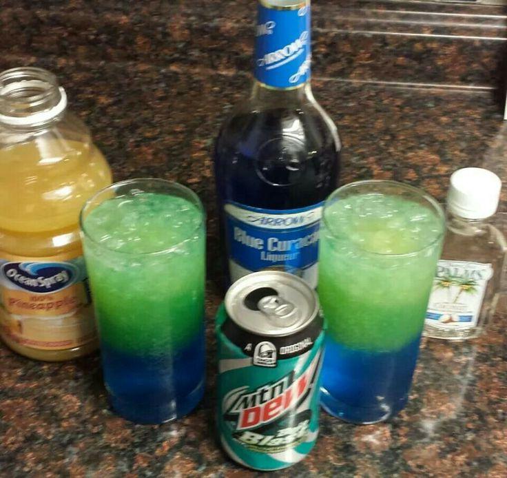 Alcoholic Drink That Tastes Like Baja Blast