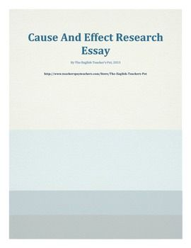 cause and effect research topics