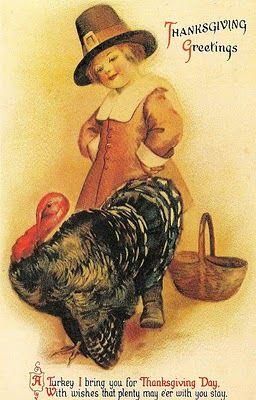 Vintage Thanksgiving Greeting Cards