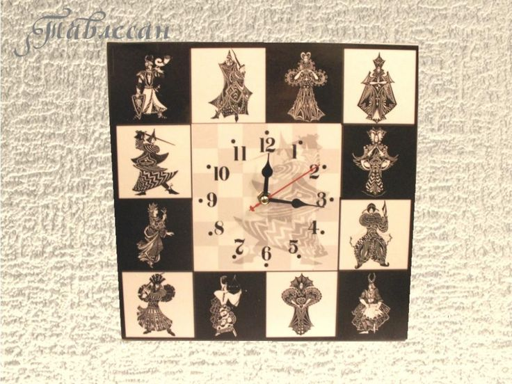 "Декупаж - Сайт любителей декупажа - DCPG.RU | ""Рыцари и дамы"", ""Бабочки"", ""Африканки"", ""Единорог"": часы и зеркала Click on photo to see more! Нажмите на фото чтобы увидеть больше! decoupage art craft handmade home decor DIY do it yourself clock"