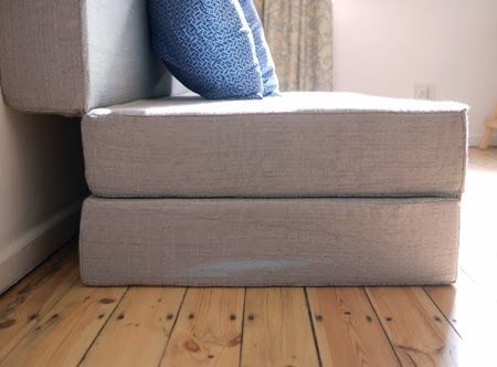 K&i - Our Wonderful World: DIY Fold out sofa bed