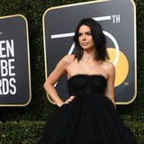 Kendall Jenner Makes Her First-Ever Red Carpet Appearance at the Golden Globes
