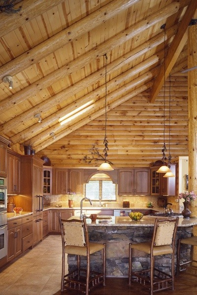 257 Best Cabins   Kitchens Images On Pinterest | Cabin Kitchens, Log Cabins  And Dreams