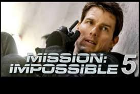 Review of Mission Impossible 5. Mission Impossible 5 is a forthcoming American action spy movie directed by Christopher McQuarrie. Mission Impossible 5 stars Tom Cruise, who reprises his character of IMF Agent Ethan Hunt.