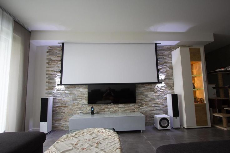 die besten 25 beamer leinwand ideen auf pinterest heimkino beamer heimkino und tv wand do it. Black Bedroom Furniture Sets. Home Design Ideas