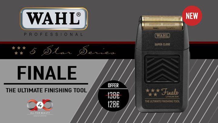FINALLY   Το κορυφαίο εργαλείο φινιρίσματος #WahlFinale είναι πλέον διαθέσιμο!  Μην χάνεις χρόνο και απόκτησε την με -10!   Τσέκαρε το: https://goo.gl/MJNE4g  | #a4b | #wahl | #finale | - facebook.com/a4b.gr