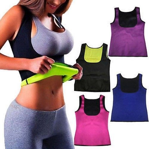 484f4437b5b Hot Sweat Sauna Body Shaper Women Slimming Vest Thermo Neoprene Waist  Trainer US  fashion  clothing  shoes  accessories  womensclothing   intimatessleep ...