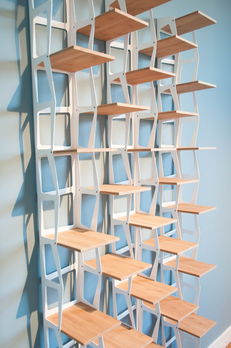 Amazing stair library furniture design