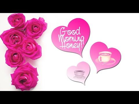 Tell your honey how much you miss him/her through this super cute #goodmorning ecard -->