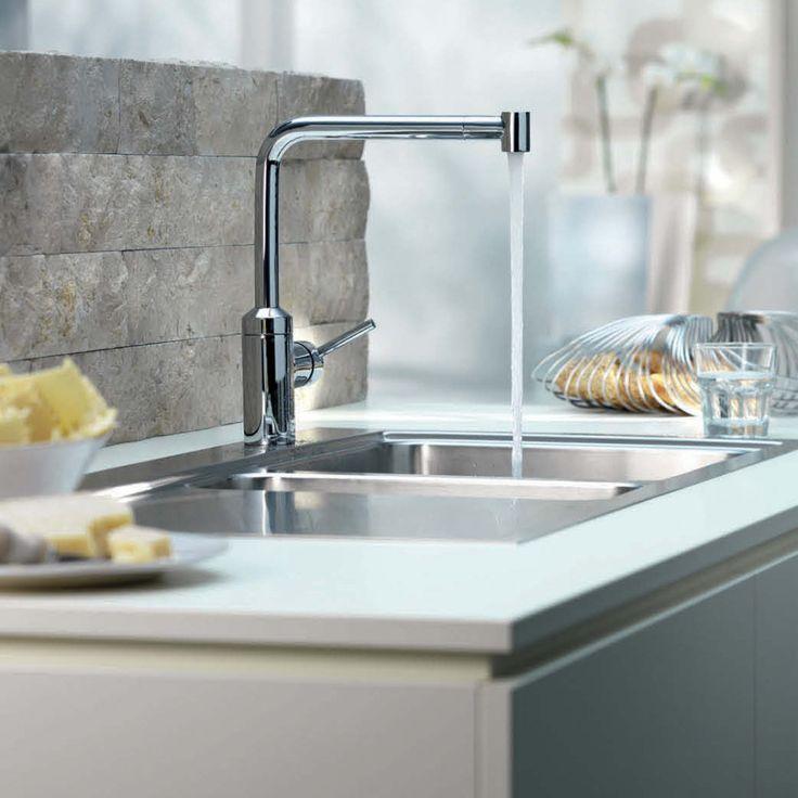 Kitchen:Modern Kitchen Island Image : Modern Kitchen Design White Ceramic  Modern Kitchen Faucets Brushed