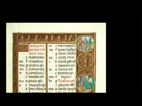 The Medieval Calendar. Getty Museum, August 2012.