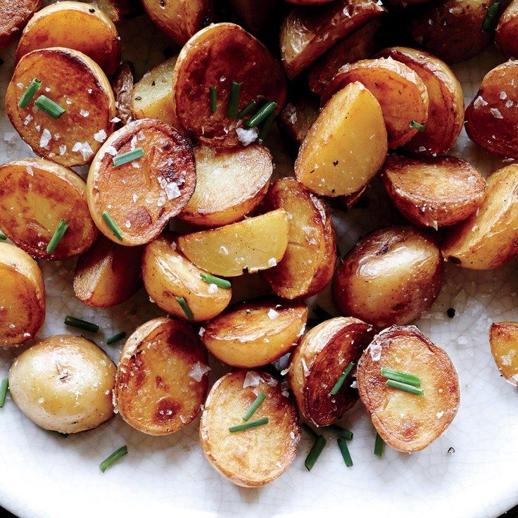 Crispy Salt-and-Vinegar Potatoes