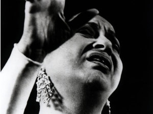 Umm Kulthum: 'The Lady' Of Cairo.  Had a concert on the first Thursday of every month for decades...