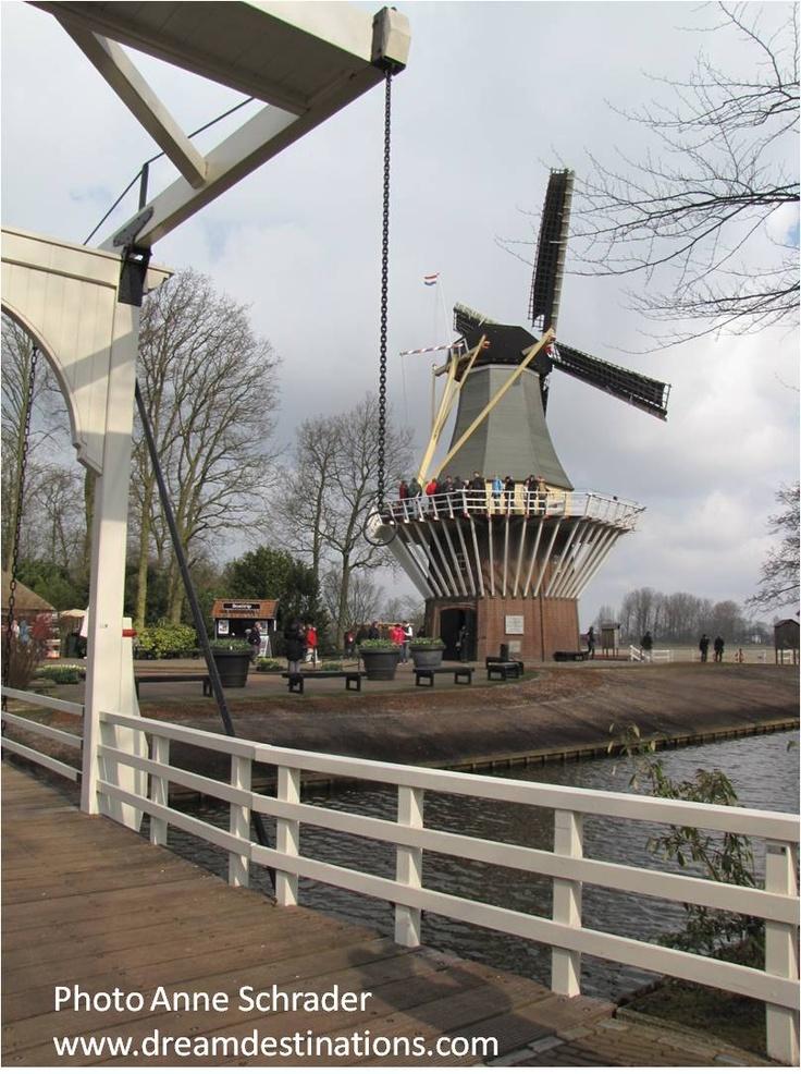 The windmill at Keukenhof Gardens Netherlands 31