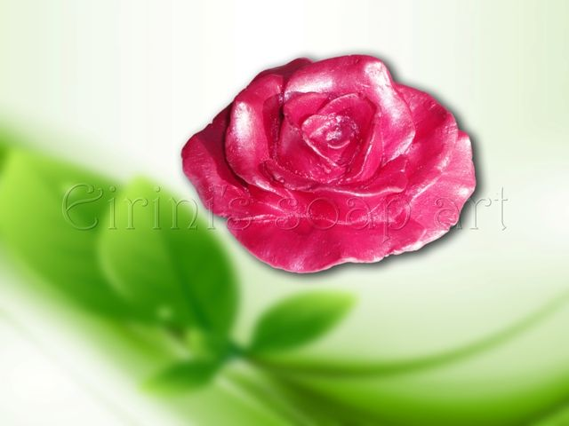 Rose 3 soap