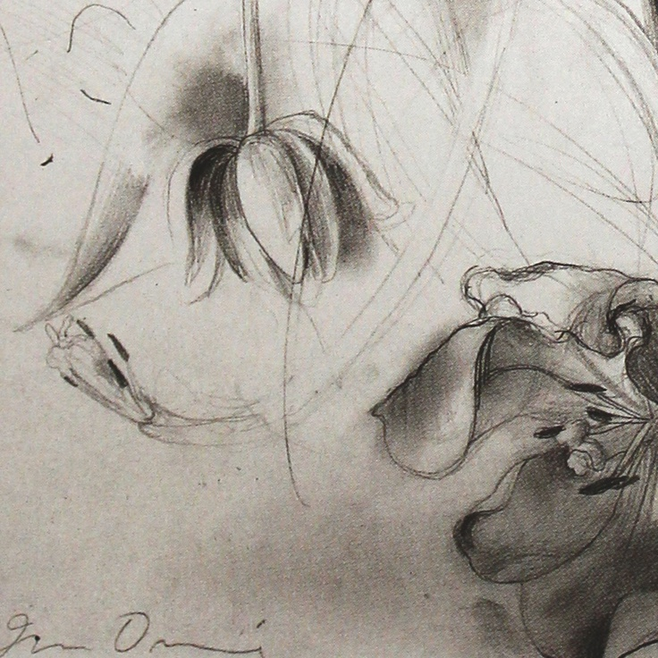 Jim Dine Tulips 1979 Detail The Gallery Pinterest