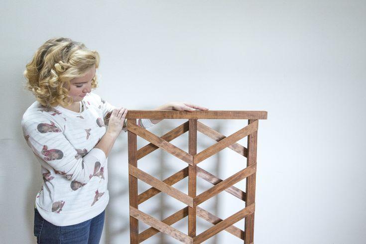 Wie Man Ein Diy Mini Gartengitter Baut Mini Trellis 400 x 300