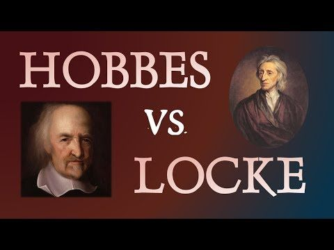 ▶ An Epic Argument about Political Philosophy. Thomas Hobbes and John Locke: Two Philosophers Compared - YouTube