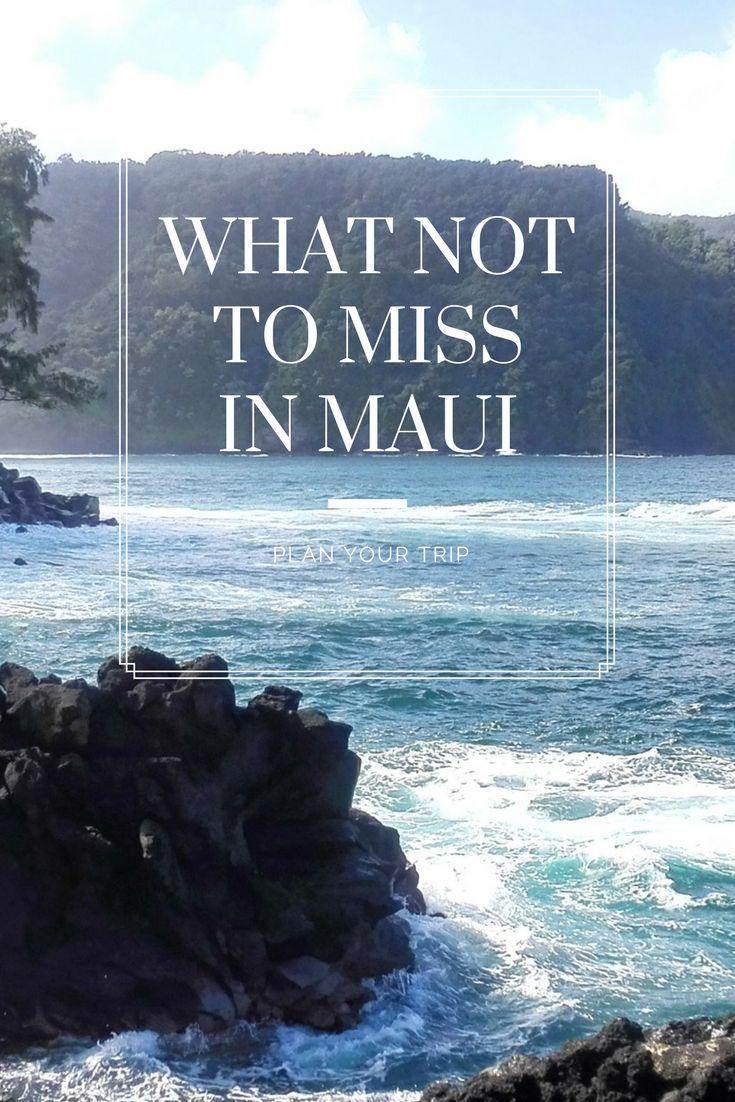 Maui has so many beautiful things to do...