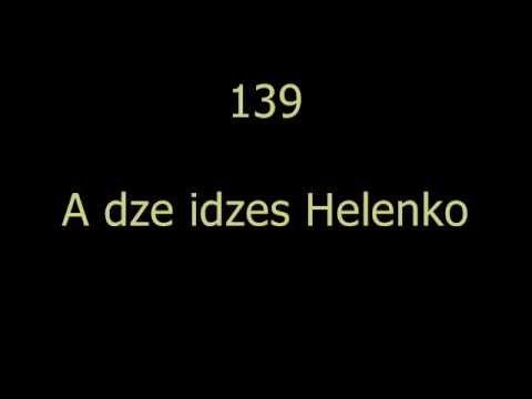 LUDOVKY Z VYCHODU 139 - A dze idzes Helenko