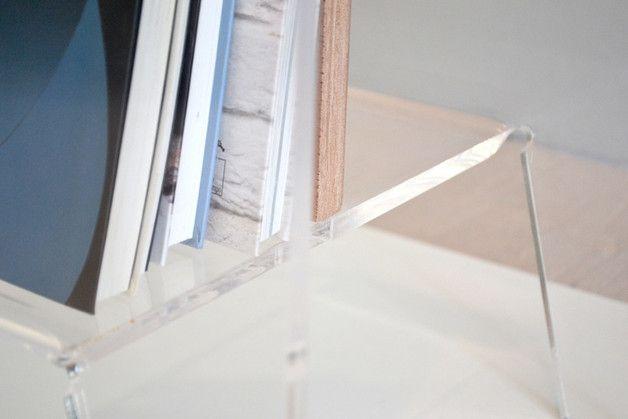 Tavolini da soggiorno - DINO – Comodino e/o Tavolino - un prodotto unico di 45_Gradi_LAB su DaWanda