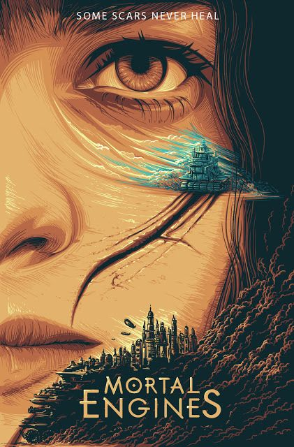 Image result for mortal engines poster
