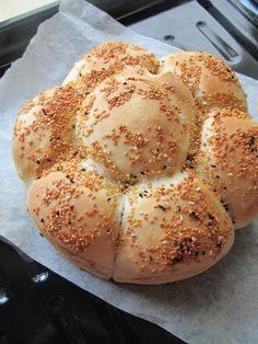 Asuman la: Çiçek Ekmek - Ev Yapımı Ekmek