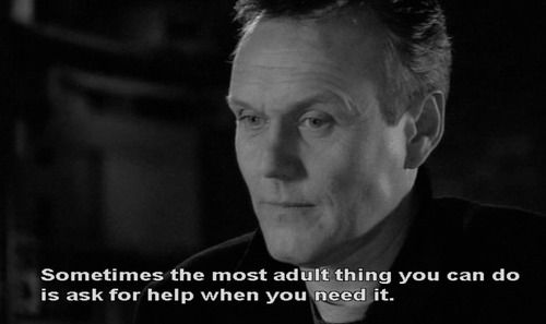 Wise words from Whedon hidden in a show about vampires. Because he can.