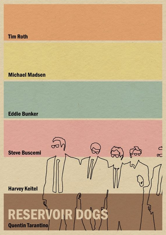 Reservoir Dogs print by MonsterGallery
