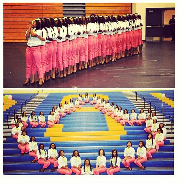 Alpha Kappa Alpha, Gamma Sigma Chapter (@AlbanyStateUniv) So proud to say I'm a part of Alpha Kappa Alpha Sorority, Incorporated: The Glorius Gamma Sigma Chapter!!!!! And yes I'm a part of this picture. WE ARE THE 44 V.P.P.E.!!!!! Thanks 45 T.M.K.K !!!!