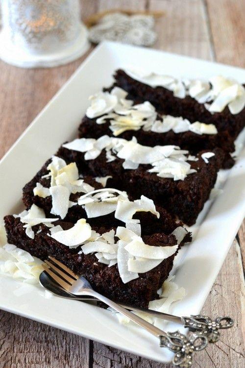 Glutén- és laktózmentes brownie-pite recept
