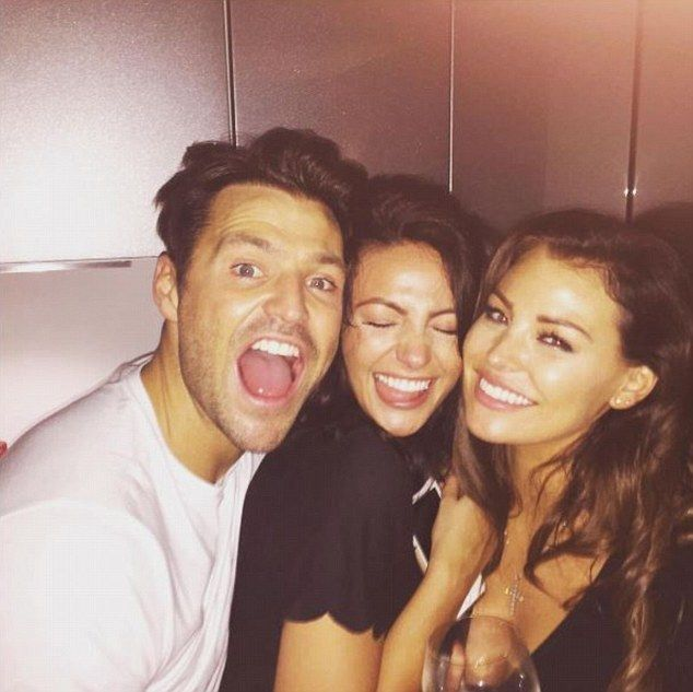 'Boxing Day banta': Mark Wright celebrated Boxing Day with his wife Michelle Keegan and sister Jess