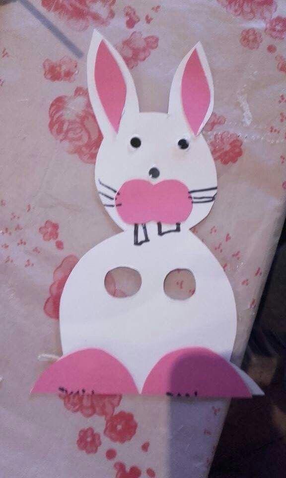 Húsvéti kreatívkodás az oviban. Lánykám (5 éves) alkotása. (2016.03.24.)