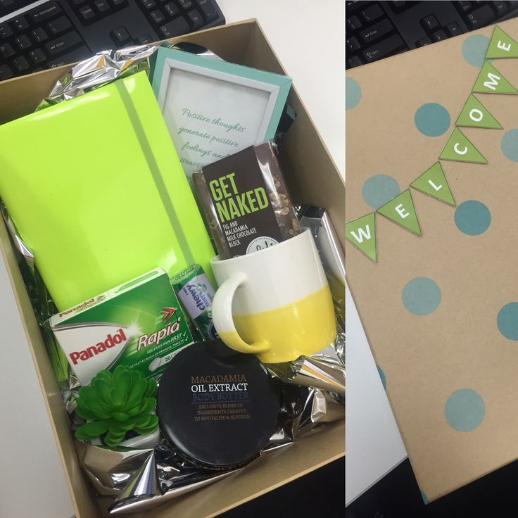 Welcome to the office pack for a new employee to naked them feel like part of…